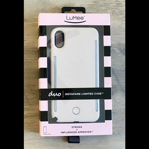 LuMee Duo Case for iPhone XS Max - Millennial Pink
